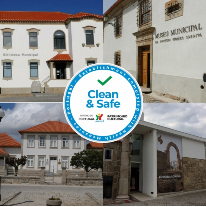 "Equipamentos municipais de Oliveira do Hospital com selo ""Clean & Safe"""