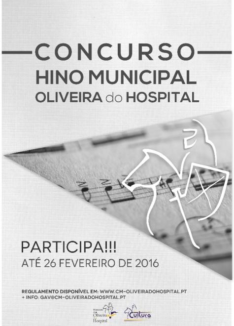 Município de Oliveira do Hospital lança concurso para o Hino do concelho